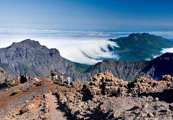 Roque de Los Muchachos, La Palma -Islas Canarias