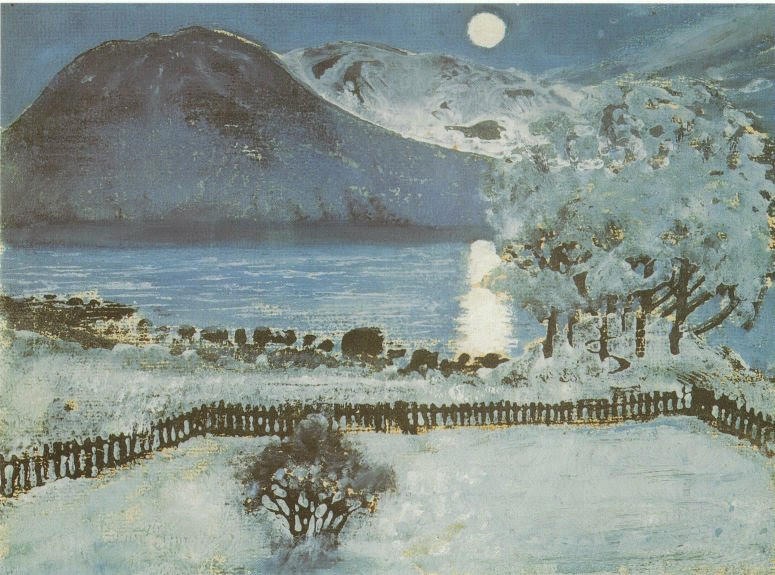 Nikolai Astrup - Winter Night