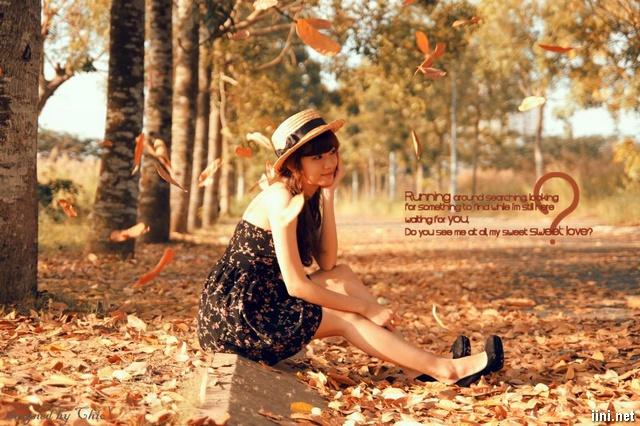 cô gái dịu dàng trong Mùa Thu lá vàng rơi