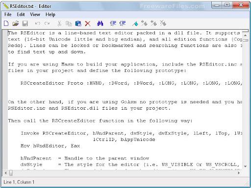 RS Editor 2.00.0.0021