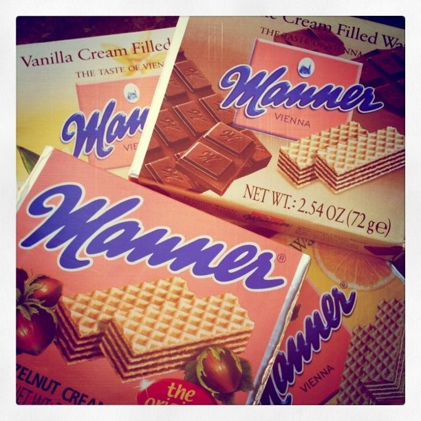 Manner wafer cookies