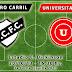 Escucha aquí Ferro Carril - Universitario (3a Fecha Liguilla 2013)