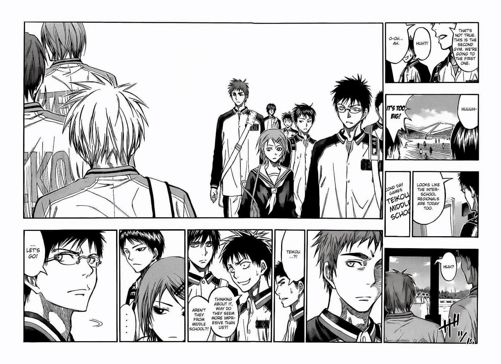 Kuroko no Basket Manga Chapter 224 - Image 14-14