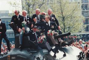 Herdenking in Enschede 1995