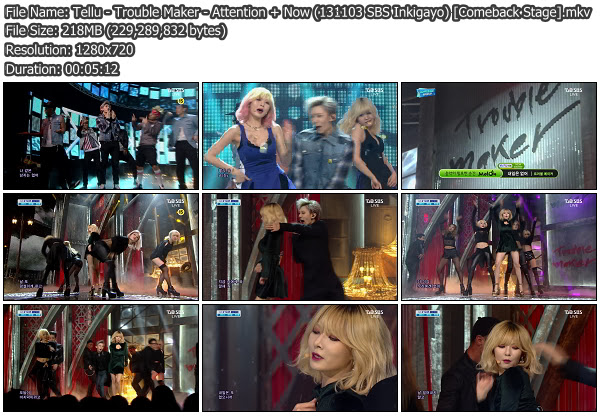 download music video trouble maker now