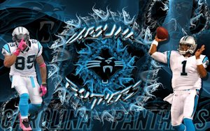 Carolina Panthers Steve Smith Cam Newton Wallpaper