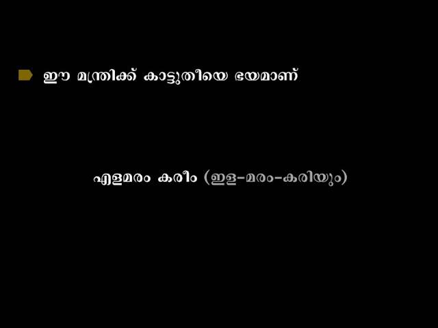 Kerala politics 8
