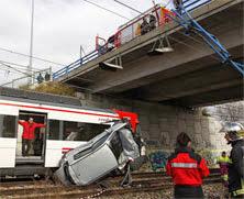 coche caido