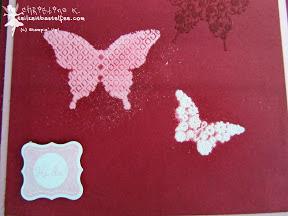 stampin up - papillon potpourri, alle meine minis, sale-a-bration