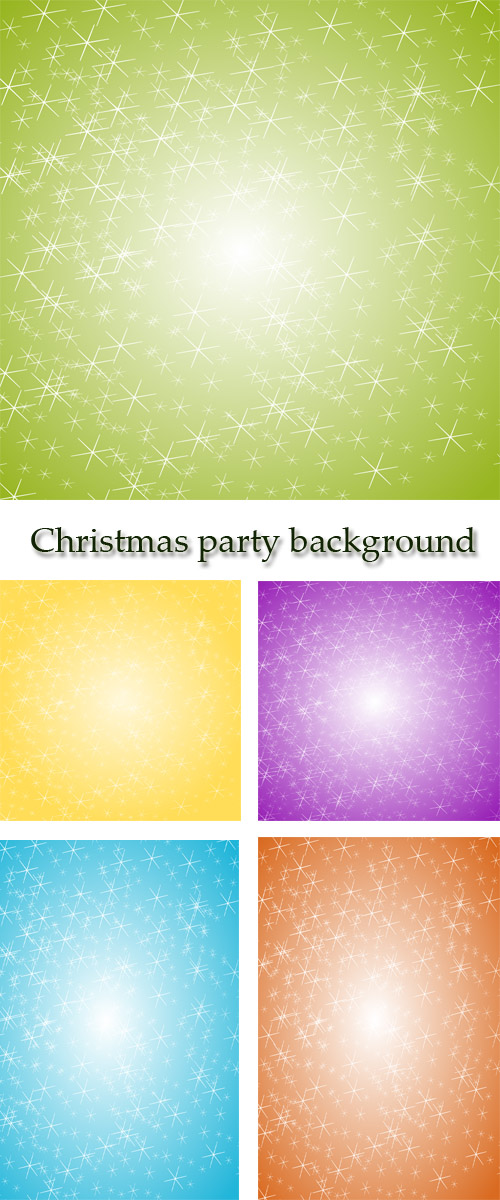 Stock: Christmas party background