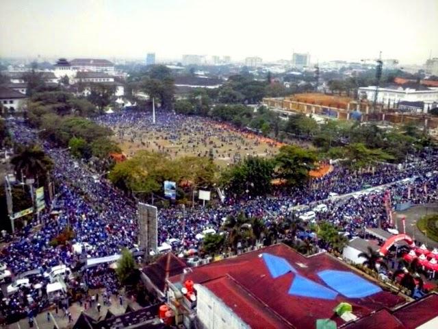 Pawai PERSIB, Bandung Lautan Biru