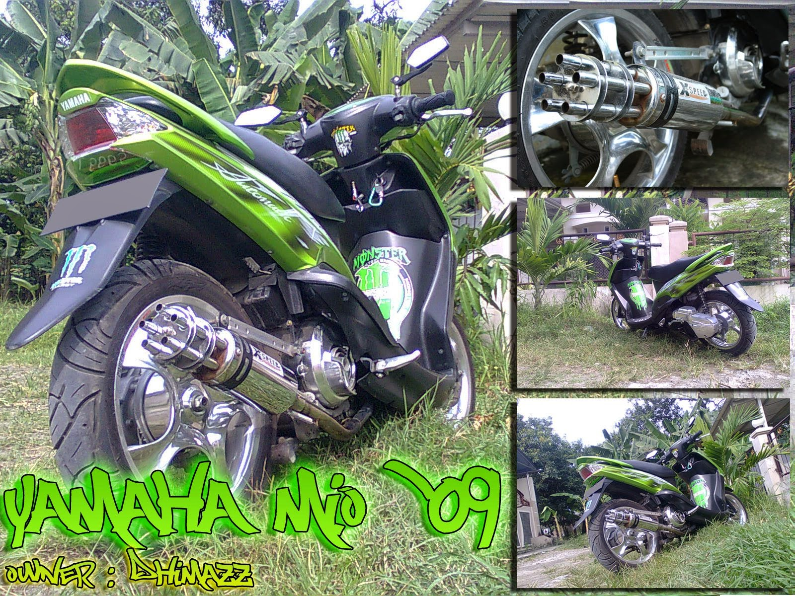 Modifikasi Yamaha Xeon Gt 125