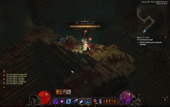 Diablo 3 Paragon 100 Wizard