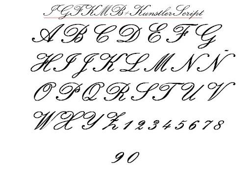 Moldes de letras y números para carteles - Imagui