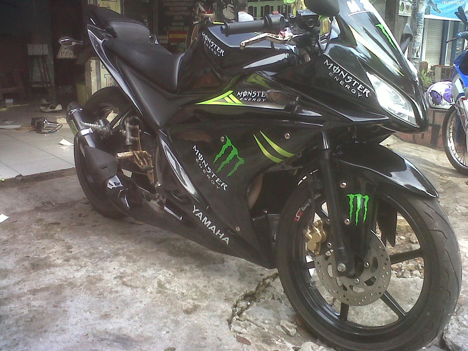 Modifikasi New Vixion Ke R125