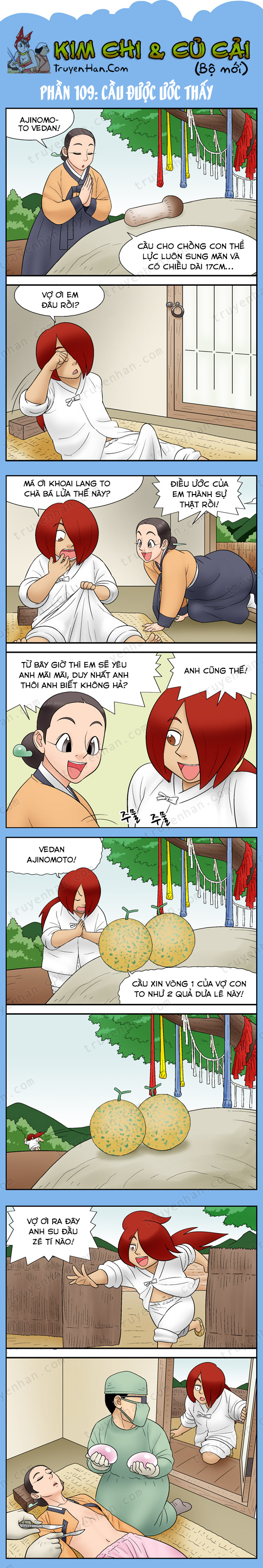 Kim Chi & Củ Cải (bộ mới) phần 109: Cầu được ước thấy