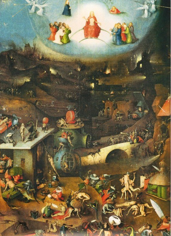 The Last Judgment, by Hieronymus Bosch (1450–1516)