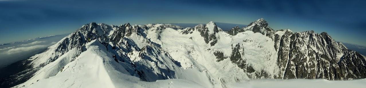 Sławkowski Szczyt panorama zima