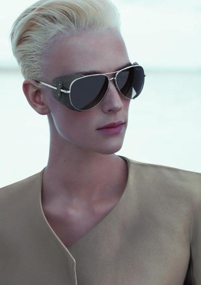 Giorgio Armani eyewear Spring-Summer 2012 campaign