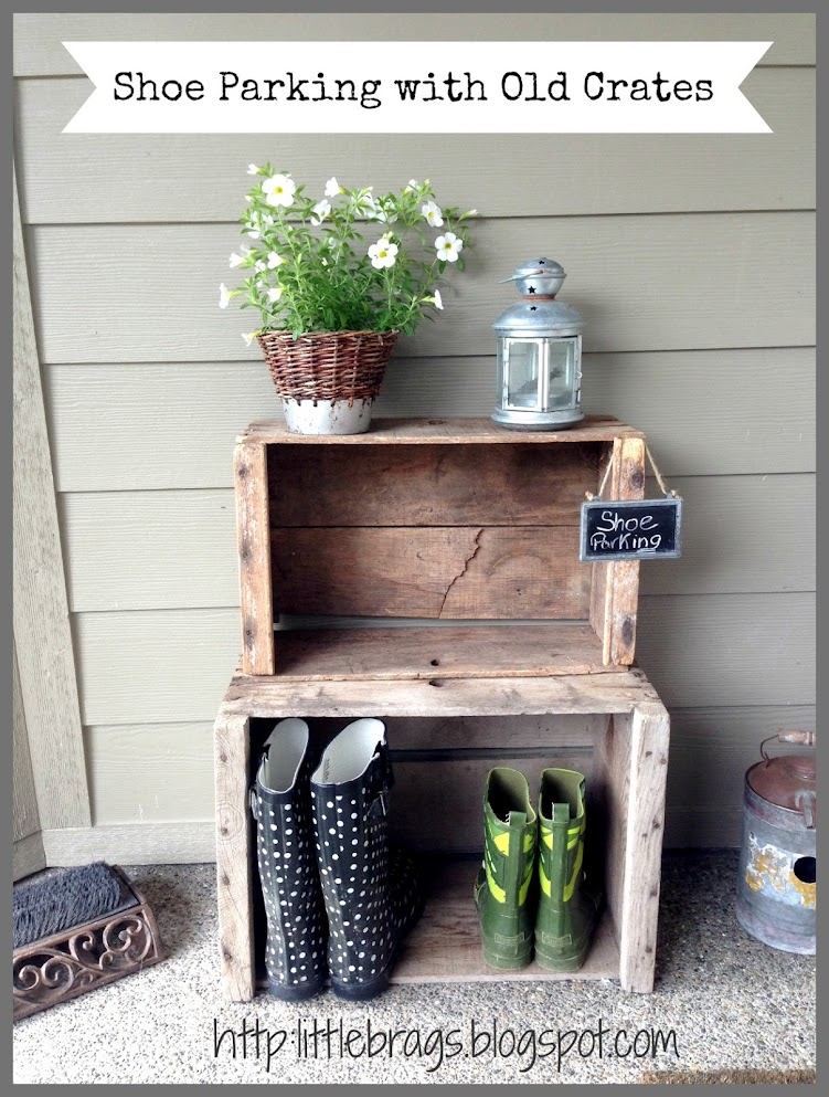 httplittlebragsblogspotcom Little Brags Decorating With Crates