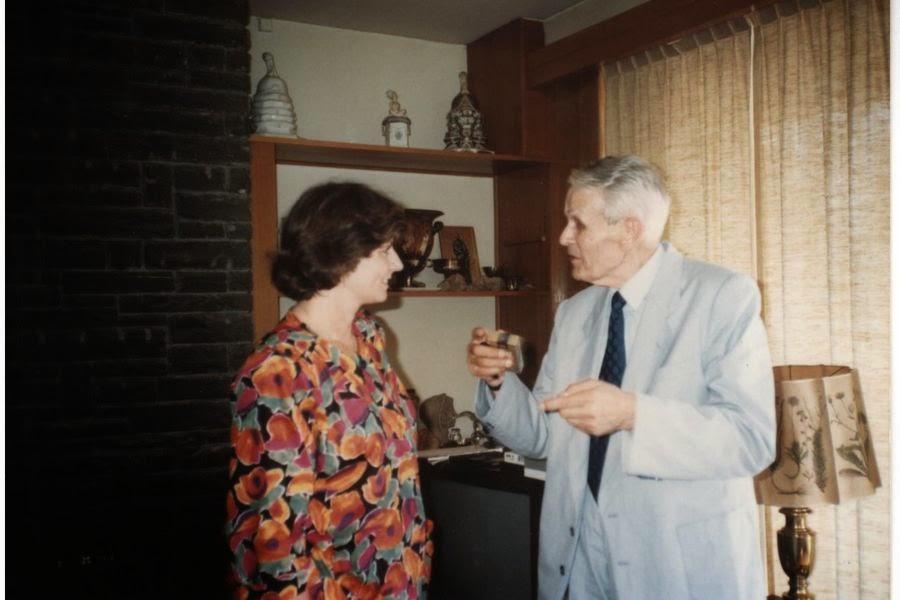 Regele Mihai si Corneliu Coposu