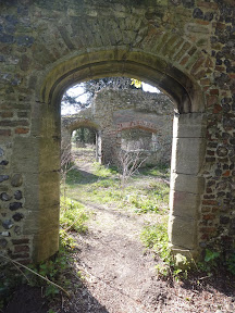 Trowse Newton Hall ruins