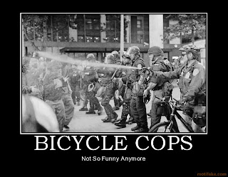 bicycle cops cop riot bike motivational poster, bicycle cops, cop riot bike motivational poster, motivational bicycle, motivational cops, motivational bicycle cops, motivational police, not so funny anymore