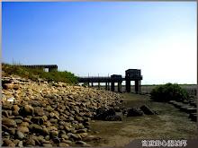 王功漁港-沙灘木橋