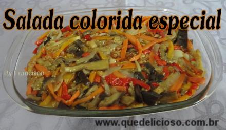 Salada colorida especial