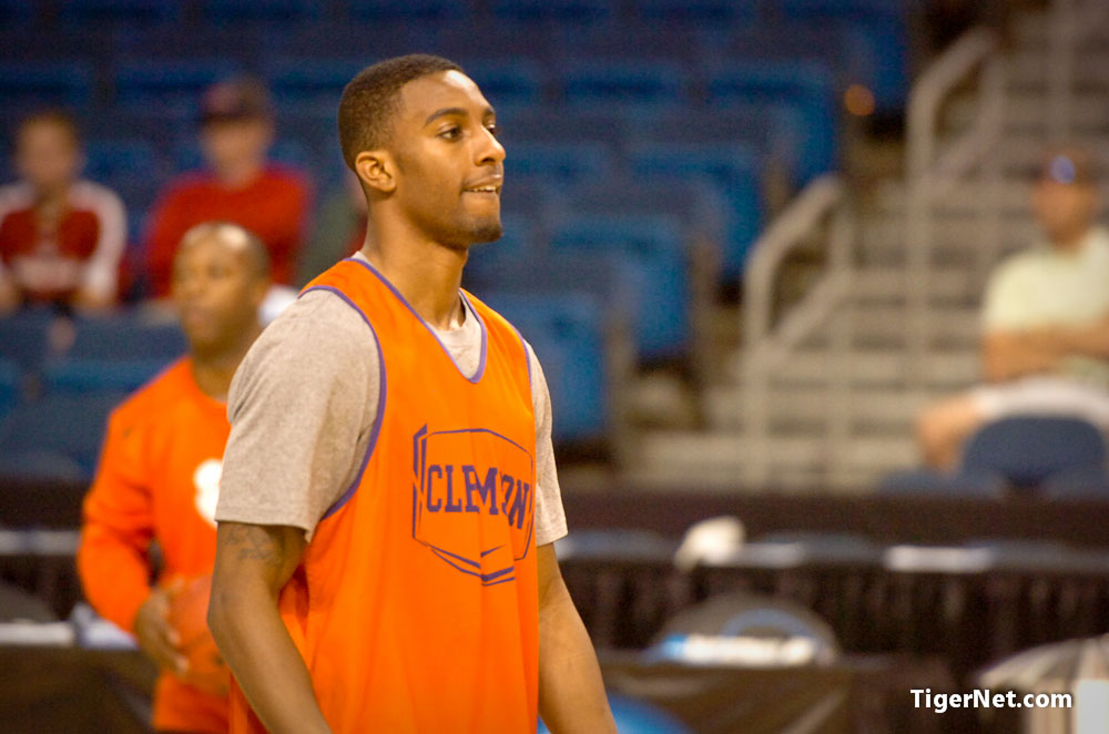 NCAA Shoot Around Photos - 2011, Basketball, Demontez Stitt