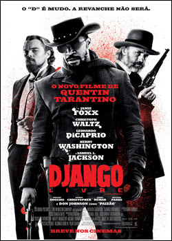 Capa do Django Livre DVDSCR XviD   Dublado + Legendadofilmes