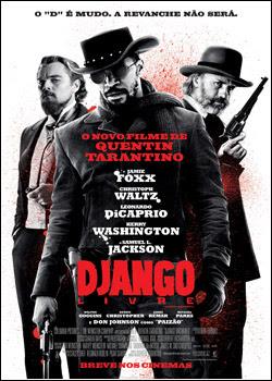 Django Livre BDRip AVI Dual Áudio e RMVB Dublado