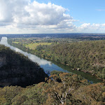 Nepean River from Mount Portal Lookout (151335)