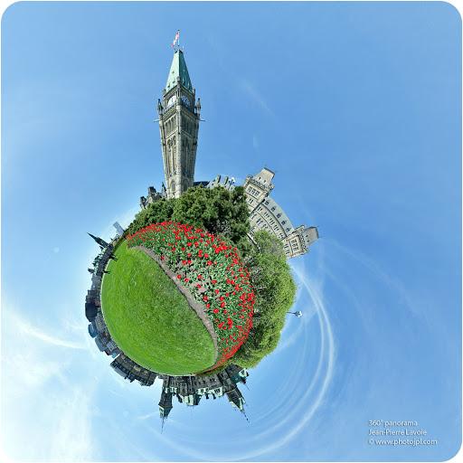 parlement canadien visite virtuelle