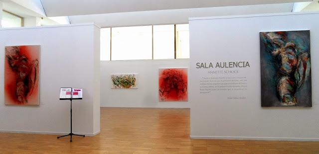 Exposición Movimiento de Annette Schock en el el Centro Cultural La Despernada