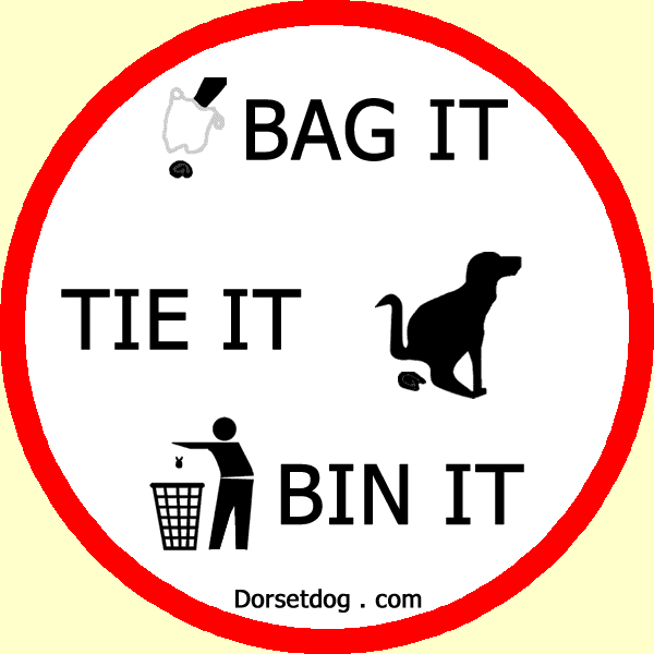 Dorsetdog.com - Bag it, tie it, bin it - any litter bin will do