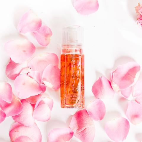 Whamisa Organic Flowers Damask Rose Petal Mist