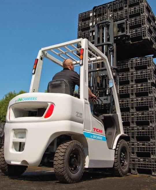 Xe nâng diesel TCM Unicarriers