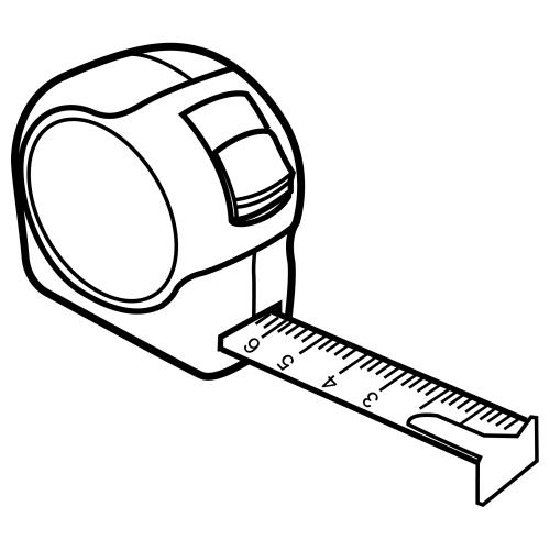 Dibujos de un metro para medir para colorear - Imagui