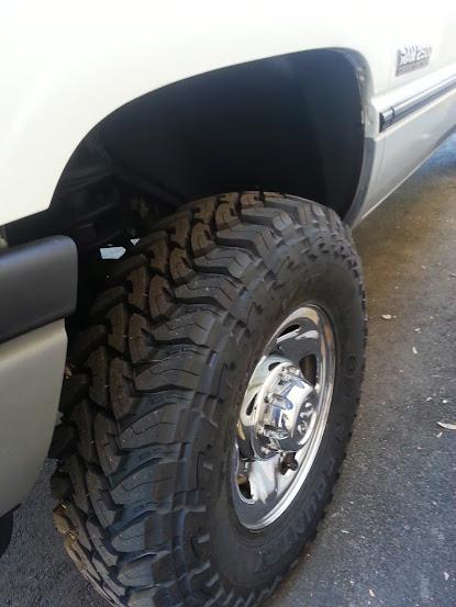 Truck Mud Tires >> 255/85/16 Toyo Mud Terrains on 2nd gen. - Dodge Cummins Diesel Forum
