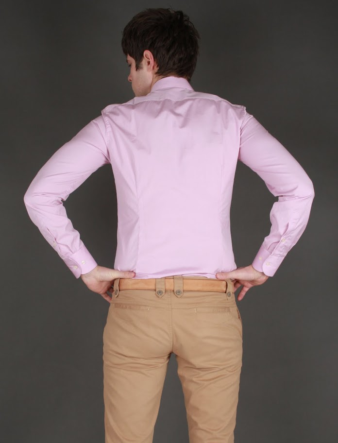 Camasa Calvin Klein Slim Fit pe roz