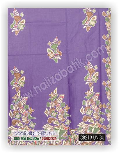 Baju Batik Terbaru, Seragam Batik, Kain Batik Murah, CB213 UNGU