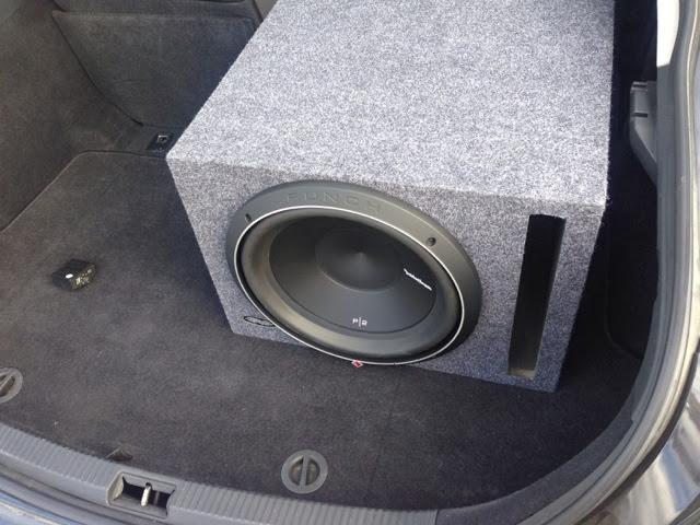 Lucas Gatley's Custom Stereo Installation: Scion tC stock stereo