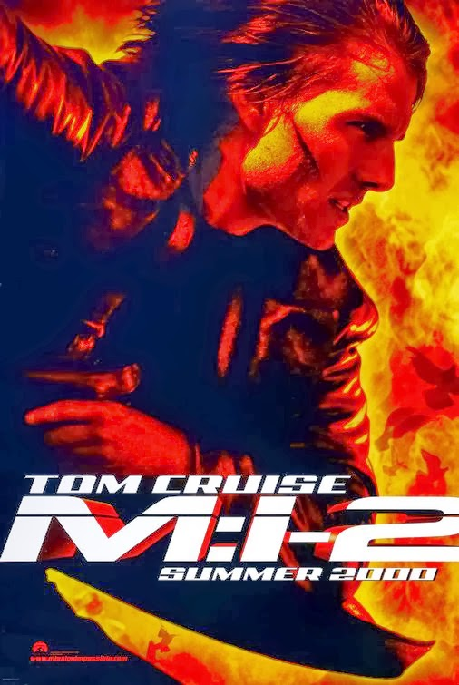 Poster Of Mission: Impossible II (2000) Full Movie Hindi Dubbed Free Download Watch Online At Alldownloads4u.Com