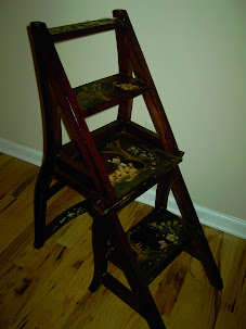 Antique Chair-Ladder (007 A-C)