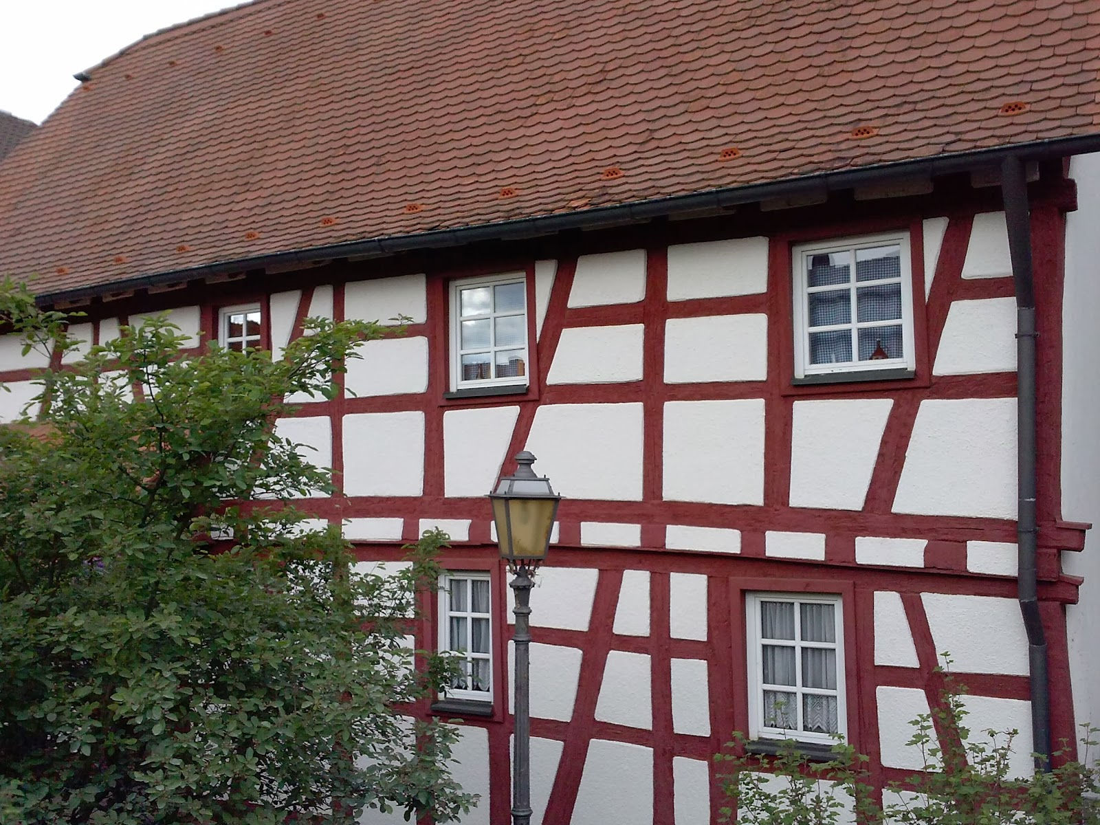 an old house in Elsenfeld