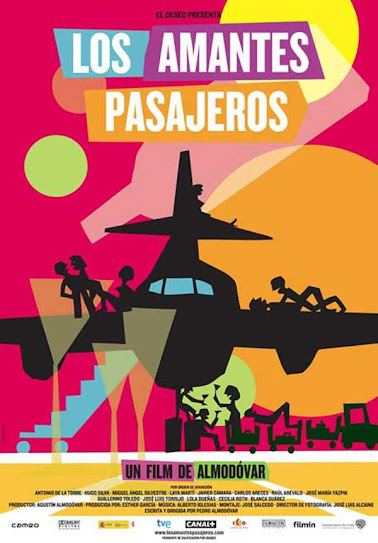 Los amantes pasajeros, cartel
