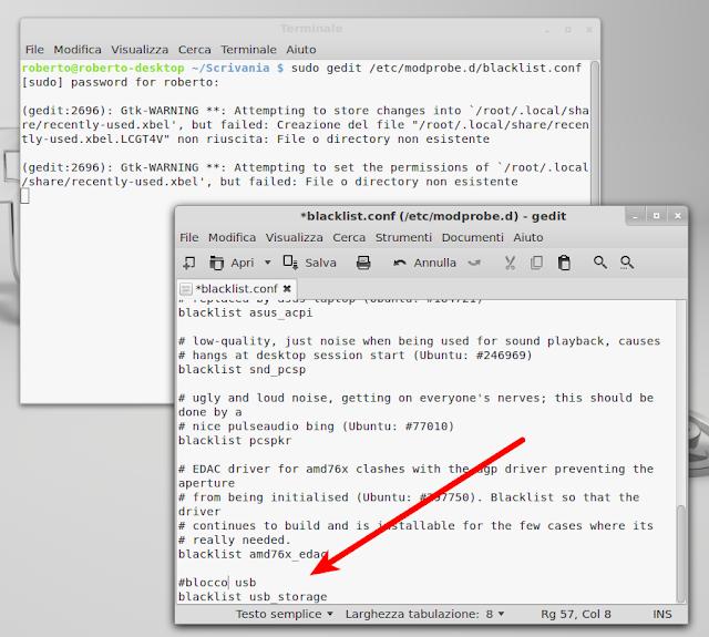 Disattivare tutte le USB su Ubuntu e Debian - Lffl org