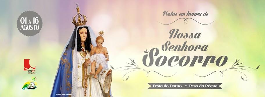 Programa da Festa em Honra de Nossa Senhora do Socorro - Régua - 2014