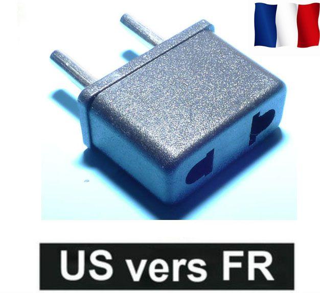 adaptateur prise fiche secteur usa japon chine vers fr. Black Bedroom Furniture Sets. Home Design Ideas
